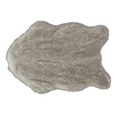 Umelá kožušina, krémovo-hnedá, 60x90, MALONE