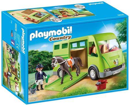 Playmobil prevoznik konjev (6928)