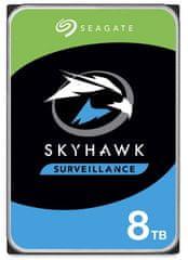 Seagate SkyHawk, 8 TB , SATA 6 Gb/s, 256 MB, 7200 trdi disk