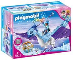Playmobil zimski Fenix s svojim očarljivim spremljevalcem (9472)