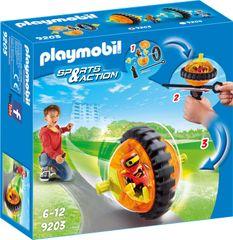 Playmobil hitrostna vrtavka, oranžna (9203)