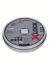 BOSCH Professional X-Lock komplet rezalnih plošč za Inow, 125 x 1,6 mm T41, ravne (2608619364)