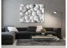 Dimex Obrazy na plátne - 3D bubliny 100 x 75 cm