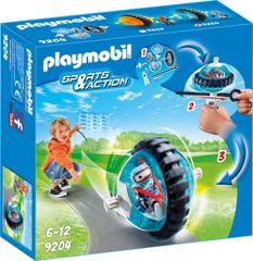 Playmobil hitrostna vrtavka, modra (9204)