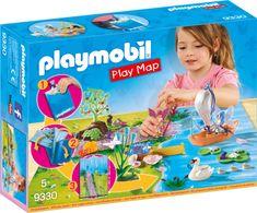 Playmobil vilin vrt vilin čoln pluje igralna podloga (9330)