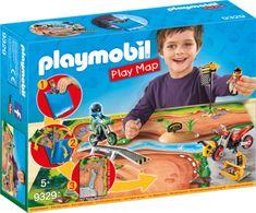 Playmobil motokros igralna podloga (9329)