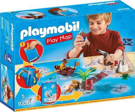 Playmobil gusarska pustolovščina igralna podloga (9328)