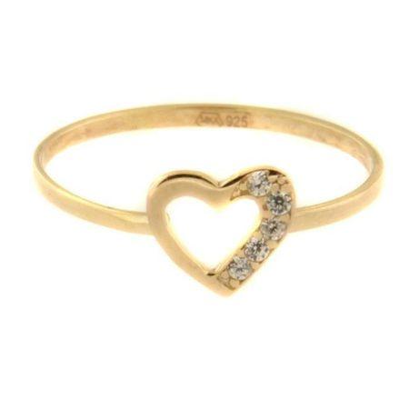 Amiatex Arany gyűrű 54591 + Nőin zokni Gatta Calzino Strech, 55, 0.8 G