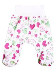 Nini ABN-1788 dekliške hlače s srčki