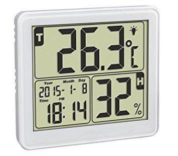 TFA 30.5042.02 digitális hőmérő higrométerrel