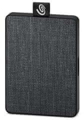 Seagate One Touch 1 TB, USB 3.0 vanjski prijenosni SSD, crna