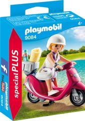 Playmobil obiskovalec plaže s skuterjem (9084)