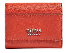 Guess Dámská peněženka Lila Slg Small Trifold Spice-Spi