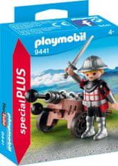 Playmobil vitez s topom (9441)