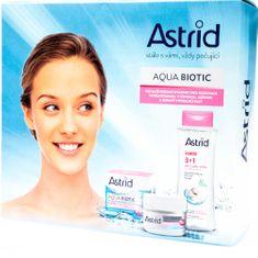 Astrid Darčeková sada starostlivosť pre suchú a citlivú pleť Aqua Biotic