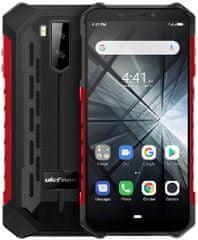 Ulefone Armor X3 DS, 2GB/32GB, černo-červený