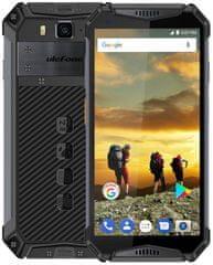 Ulefone Armor 3W DS, 6GB/64GB, černý
