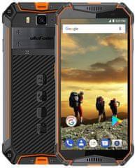 Ulefone Armor 3W DS, 6GB/64GB, černo-oranžový