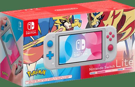 Nintendo Switch Lite igraća konzola, Zacian & Zamazenta Edition G/R
