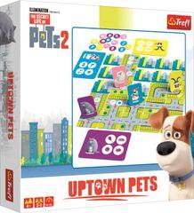 Trefl A kis kedvencek titkos élete 2 Uptown Pets társasjáték
