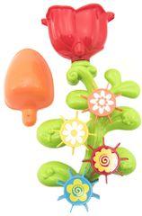Teddies Młynek plastikowy kwiatek 32 cm z przyssawką w blistrze 18m +