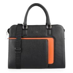 Galko Dámská kožená taška na notebook 13-0566