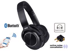 Trevi X-DJ 13E80 ANC BT bežične Bluetooth slušalice + mikrofon, Aux-in, crne