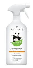 Attitude Univerzálny čistič s vôňou citrónovej kôry s rozprašovačom 800 ml