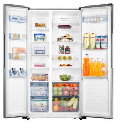 Gorenje NRS9182MX ameriški hladilnik