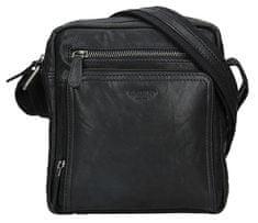 Lagen Moška usnjena torba BLC-4091-18 Blk