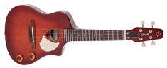 Seagull Uke Nylon SG Burst EQ Elektroakustické ukulele