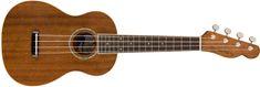 Fender Zuma Concert Ukulele WN NAT Akustické ukulele