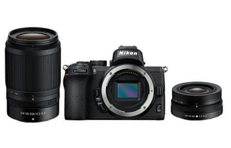 Nikon Z50 fotoaparat + objektiva 16-50 VR in 50-250 VR