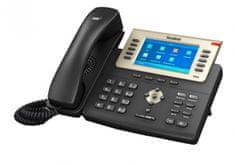 "YEALINK SIP-T29G - IP telefon, 16x SIP účtů, LCD 4,3"" 480x272pix - barevný, 27x prog. tl., POE, GigE"