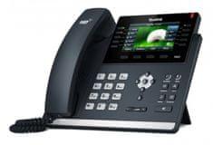 "YEALINK SIP-T46S - IP telefon, 16x SIP účtů, LCD 4,3"" 480x272pix - barevný, 27x prog. tlačítek, POE, GigE"