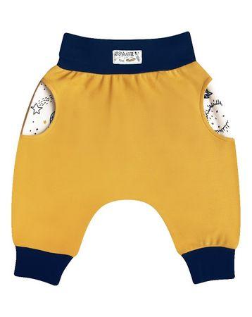 Nini chlapecké kalhoty ABN-1700 62 oranžová