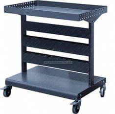 Shuter Malý kovový vozík pre uloženie závesných zakladačov / boxov na diely, materiál a náradie | Shuter