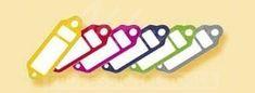 AHProfi Přívěšky na klíče Plastik malé - červené - 434020150   AHProfi