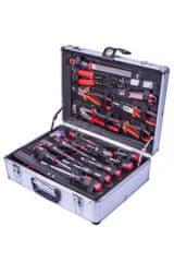 AHProfi Hliníkový kufor s náradím, 130 dielov - AH161009 | AHProfi