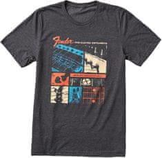 Fender Jaguar T-Shirt XXL Tričko