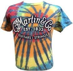 Martin T-Shirt Tie Dye XXL Tričko