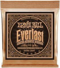 Ernie Ball Everlast Phosphor Bronze Extra Light Kovové struny na akustickú gitaru