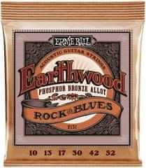 Ernie Ball Earthwood Phosphor Bronze Rock & Blues Kovové struny na akustickú gitaru