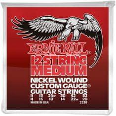 Ernie Ball Nickel Wound 12-String Medium Struny na dvanásťstrunovú elektrickú gitaru
