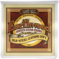 Ernie Ball Earthwood Silk & Steel 12-String Soft Struny na dvanásťstrunovú gitaru