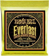 Ernie Ball Everlast 80/20 Bronze Extra Light Kovové struny na akustickú gitaru