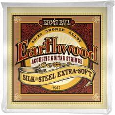 Ernie Ball Earthwood Silk & Steel Extra Soft Kovové struny na akustickú gitaru
