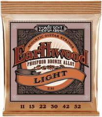Ernie Ball Earthwood Phosphor Bronze Light Kovové struny na akustickú gitaru