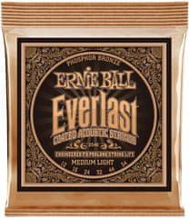 Ernie Ball Everlast Phosphor Bronze Medium Light Kovové struny na akustickú gitaru