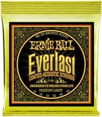 Ernie Ball Everlast 80/20 Bronze Medium Light Kovové struny na akustickú gitaru